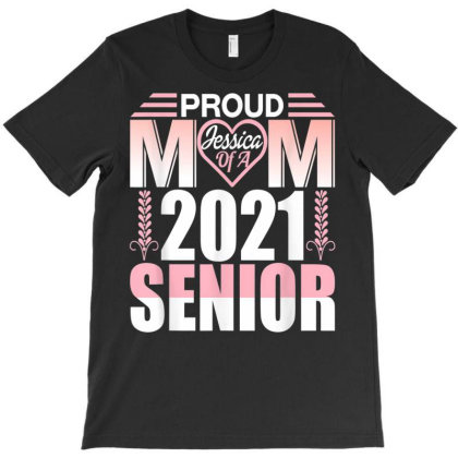 Proud Mom Of A Class Of 2021 Graduate School T-shirt Designed By Koopshawneen