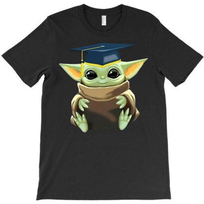 Baby Yoda Last Day Of School Graduation T-shirt Designed By Koopshawneen
