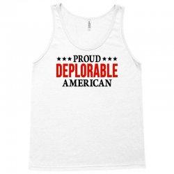 Proud Deplorable American Tank Top | Artistshot