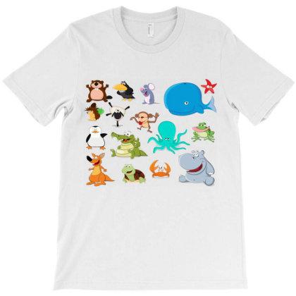 Cartoon Anime Animals T-shirt Designed By Estore