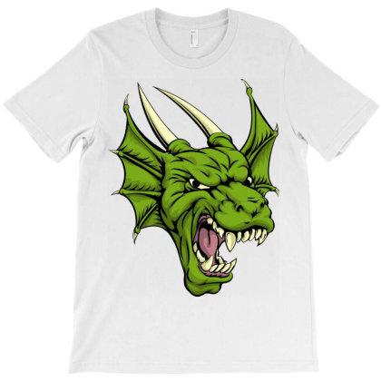 Cartoon Anime Dragon T-shirt Designed By Estore