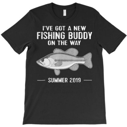Baby Announce Fishing Future Dad Tshirt Coming Summer 2019 T-shirt Designed By Good0396
