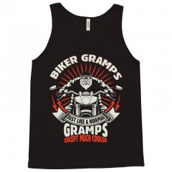 Biker Gramps Tank Top | Artistshot