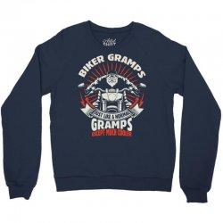 Biker Gramps Crewneck Sweatshirt | Artistshot