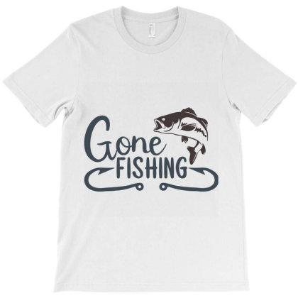 Gonefishing7 T-shirt Designed By Hatta1976