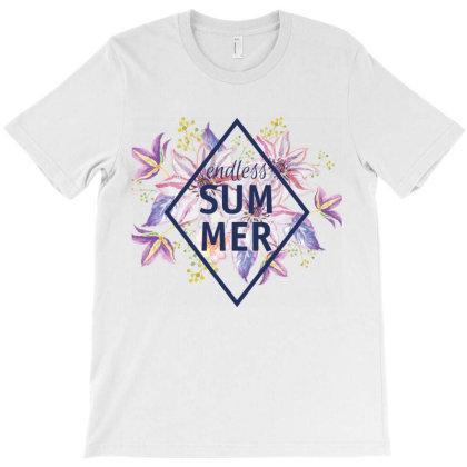 Endless Summer, Flowers T-shirt Designed By Estore