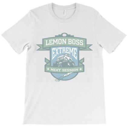 Lemon Boss, Extreme, Next Session T-shirt Designed By Estore