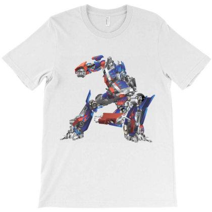 Robot, Transformer T-shirt Designed By Estore