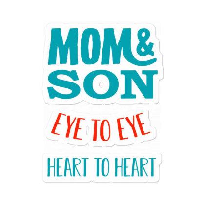 Mom And Son Not Always Eye To Eye Sticker Designed By Jessicafreya