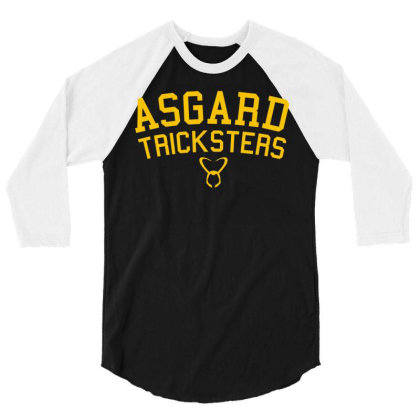 Asgard Tricksters 3/4 Sleeve Shirt Designed By Rs Shop