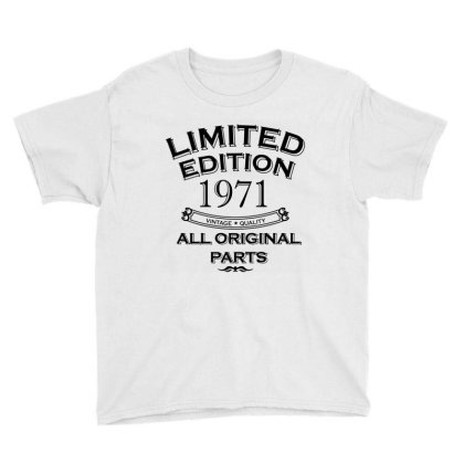 Present Fifty Limited Edition Year 1971 Youth Tee Designed By Jamiejflores