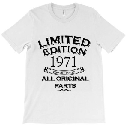 Present Fifty Limited Edition Year 1971 T-shirt Designed By Jamiejflores
