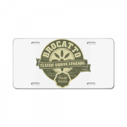 Brocatto, Classic urban legends, trade mark License Plate | Artistshot