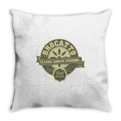 Brocatto, Classic urban legends, trade mark Throw Pillow | Artistshot