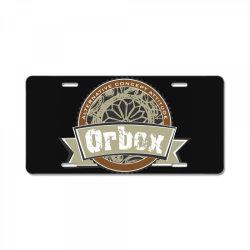 Alternative concept attitude, Orbok License Plate | Artistshot