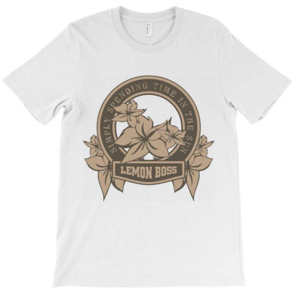Simply Spending Time In The Sun, Lemon Boss T-shirt Designed By Estore