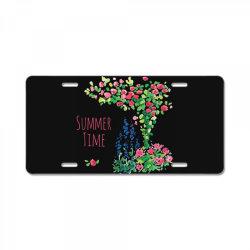 Summer time License Plate | Artistshot