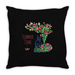Summer time Throw Pillow | Artistshot
