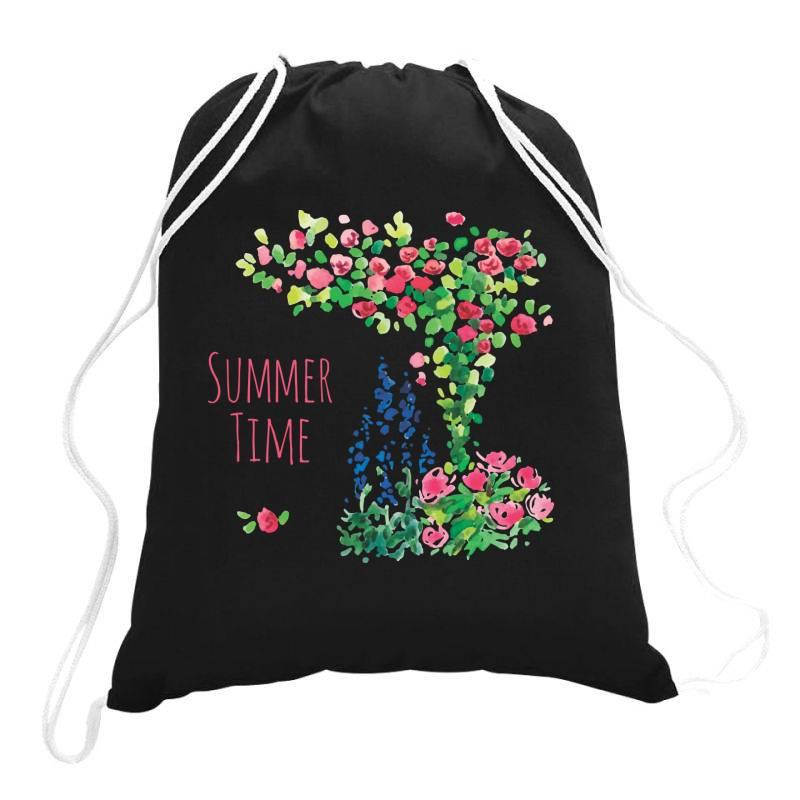 Summer Time Drawstring Bags | Artistshot
