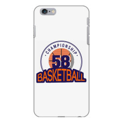 Championship 58 basketball iPhone 6 Plus/6s Plus Case | Artistshot
