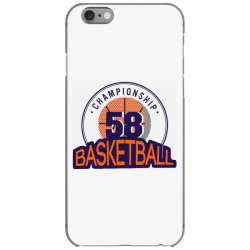 Championship 58 basketball iPhone 6/6s Case | Artistshot