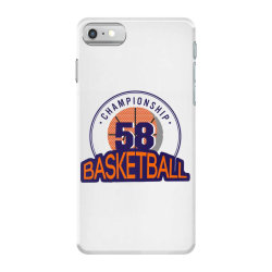 Championship 58 basketball iPhone 7 Case | Artistshot