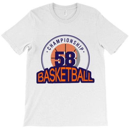 Championship 58 Basketball T-shirt Designed By Estore