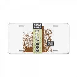 Urban tribe, Brocatto, Trade mark License Plate | Artistshot