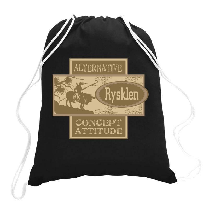 Alternative, Concept Attitude Drawstring Bags | Artistshot