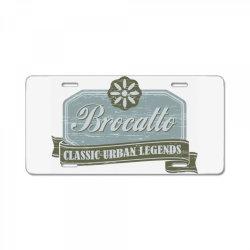 Brocatto, Classic urban legends License Plate | Artistshot