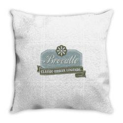 Brocatto, Classic urban legends Throw Pillow | Artistshot