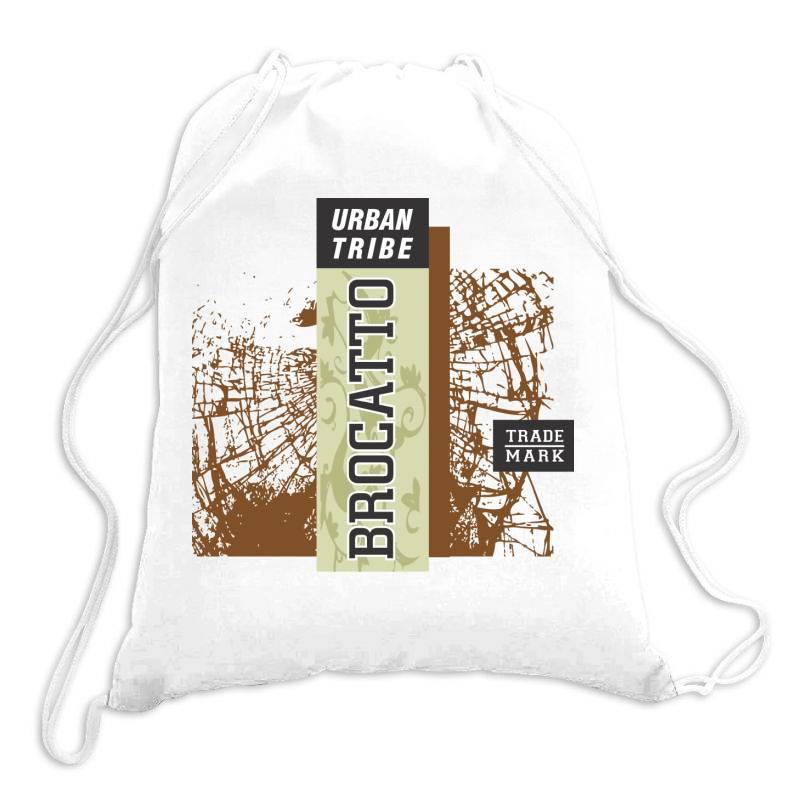 Urban Tribe, Brocatto, Trade Mark Drawstring Bags | Artistshot