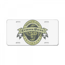 Designed to riding, Lemon boss, Performance License Plate | Artistshot