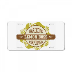 Hardcore performance, Lemon boss License Plate | Artistshot