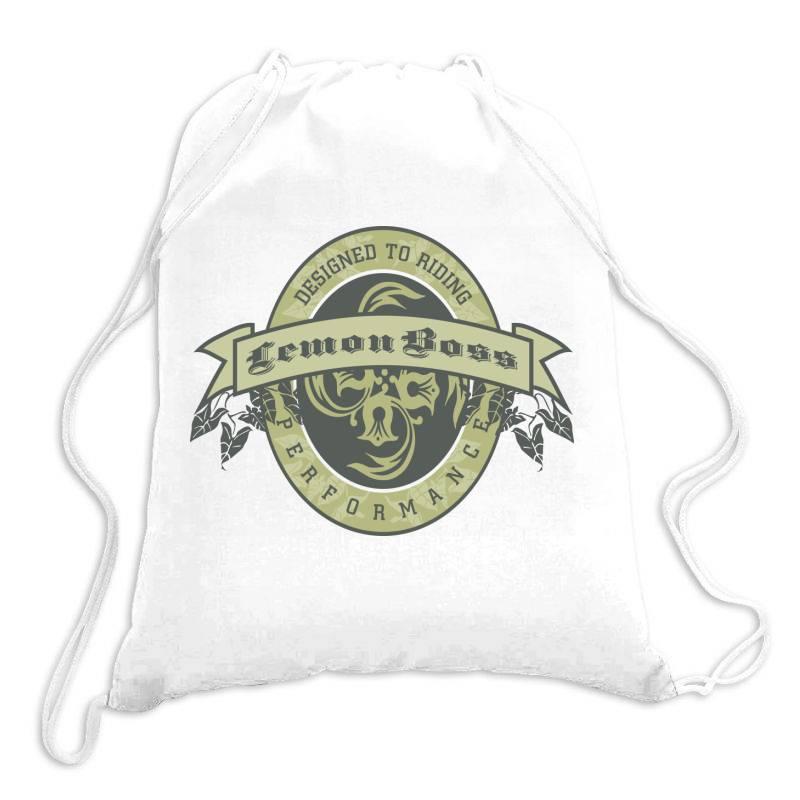 Designed To Riding, Lemon Boss, Performance Drawstring Bags | Artistshot