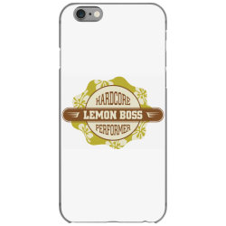 Hardcore performance, Lemon boss iPhone 6/6s Case | Artistshot