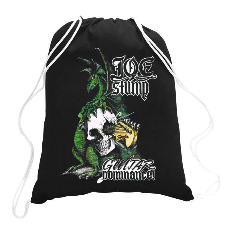 Joe Stump. Guitar Dominance Drawstring Bags | Artistshot
