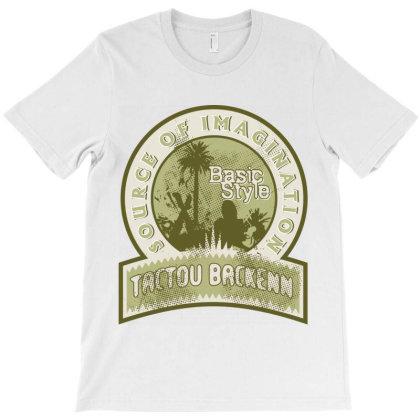 Source Imagination, Basic Style T-shirt Designed By Estore