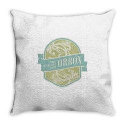 Public Alternative Label, Orbox Throw Pillow | Artistshot
