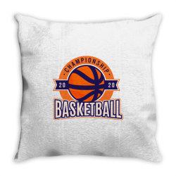 Championship, basketball Throw Pillow | Artistshot