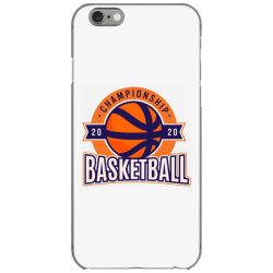 Championship, basketball iPhone 6/6s Case | Artistshot