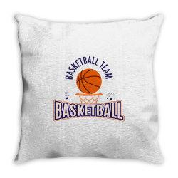 Basketball team Throw Pillow   Artistshot