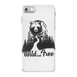 Wild and tree, Bear iPhone 7 Case | Artistshot