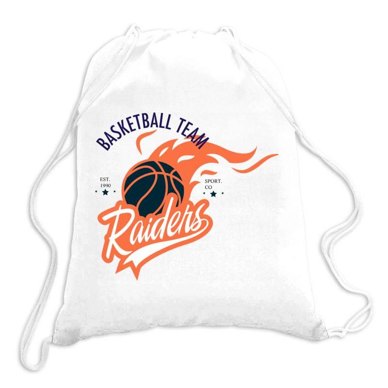 Basketball Team, Raiders Drawstring Bags | Artistshot
