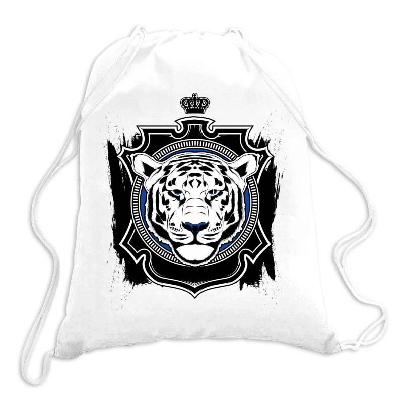 Tiger, Safari Drawstring Bags   Artistshot