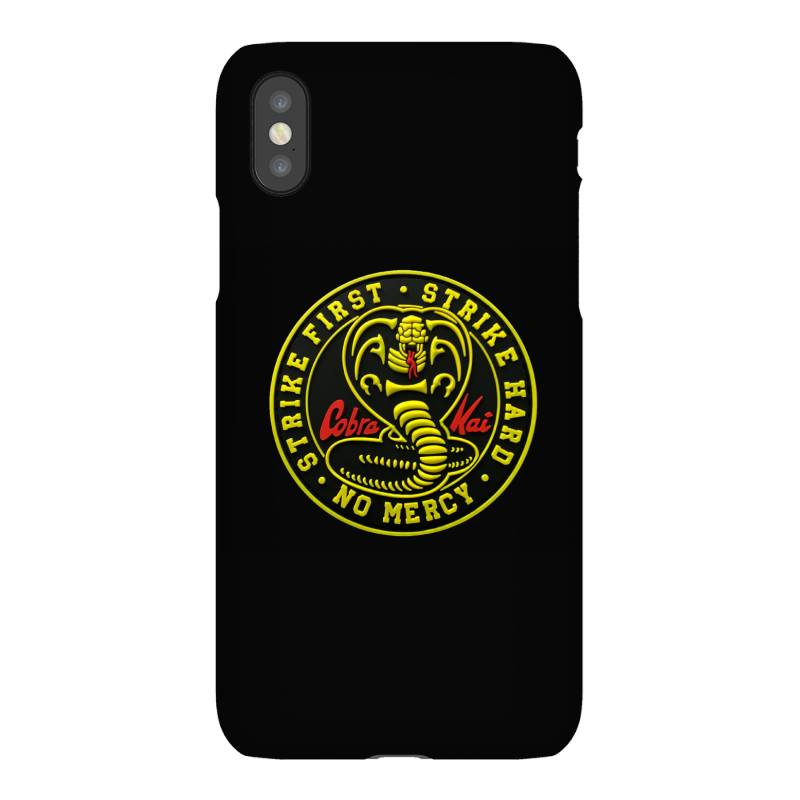 Cobra Kai,   Strike First,   Strike Hard,   No Mercy, Iphonex Case | Artistshot