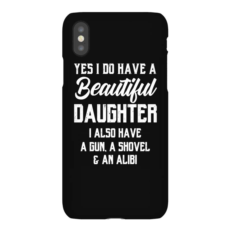 Mens Daughter To Dad - Fathers Day Gift Iphonex Case | Artistshot