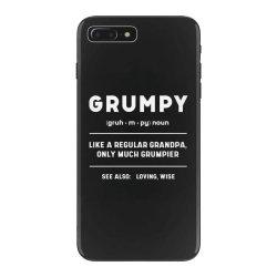 Grumpy Like A Regular Grandpa - Fathers Day Gift iPhone 7 Plus Case | Artistshot