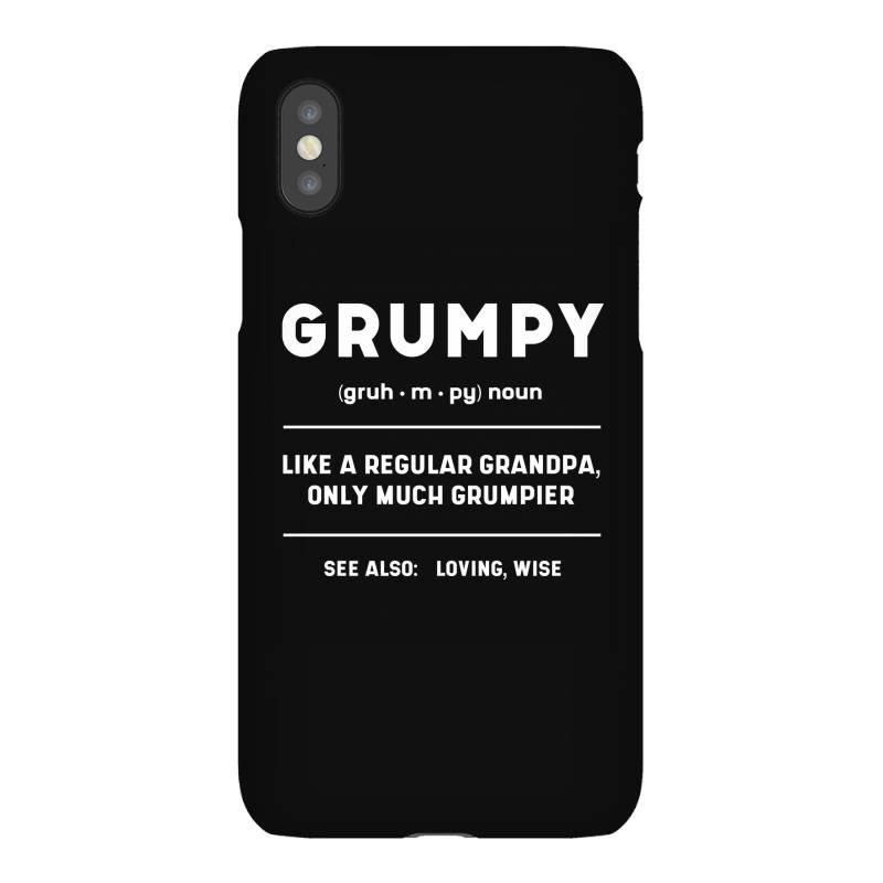 Grumpy Like A Regular Grandpa - Fathers Day Gift Iphonex Case   Artistshot