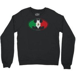 bat man mexican flag mexico logo Crewneck Sweatshirt   Artistshot